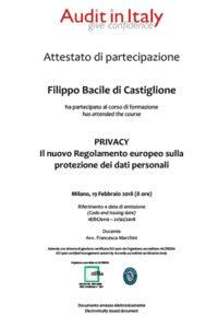 nuovo regolamento privacy fbc servizi